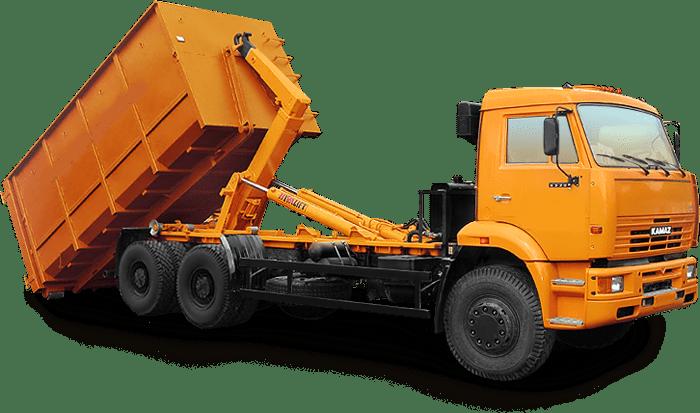 Вывоз строительного мусора самосвалом 20 м3